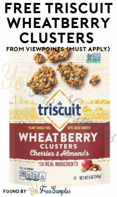 FREE Triscuit Wheatberry Clusters From ViewPoints (Must Apply)