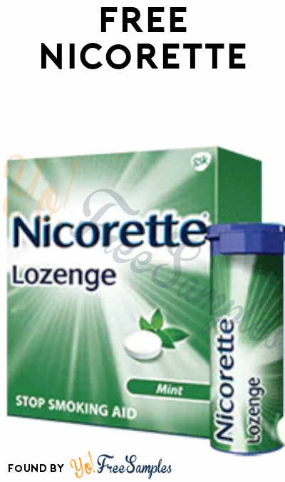 FREE Nicorette From ViewPoints (Must Apply)