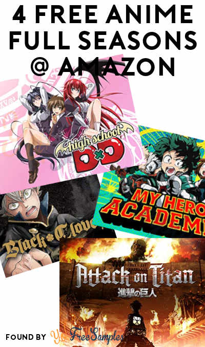 4 FREE Anime Full Seasons On Amazon Video