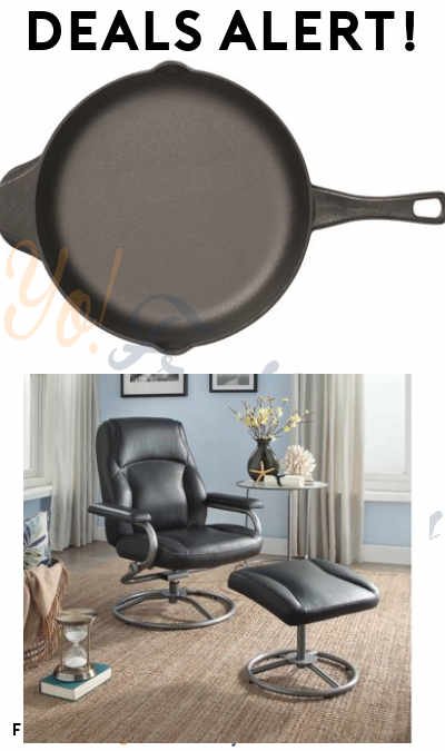 DEALS ALERT: Calphalon Skillet, Recliner Swivel Chair and Ottoman Set, Nokia Unlocked Phone, Panels & More