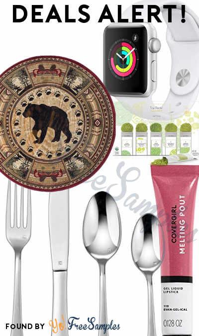 DEALS ALERT: Apple Watch, Matcha Powder Green Tea Box, Black Bear Rug, Cuisinart Flatware Set, COVERGIRL Lipstick & More