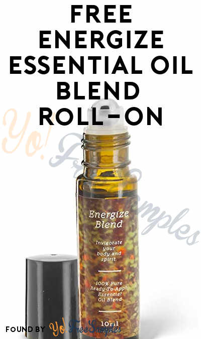FREE Energize Essential Oil Blend Roll-On