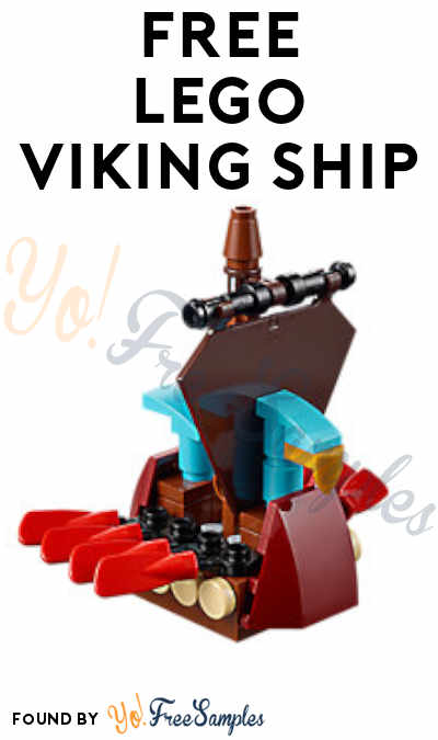 Registration Open: FREE LEGO Viking Ship Model From Mini Model Build Event March 5th & 6th