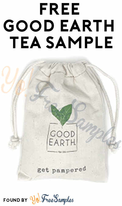 5 FREE Good Earth Tea Samples [Verified Received By Mail]