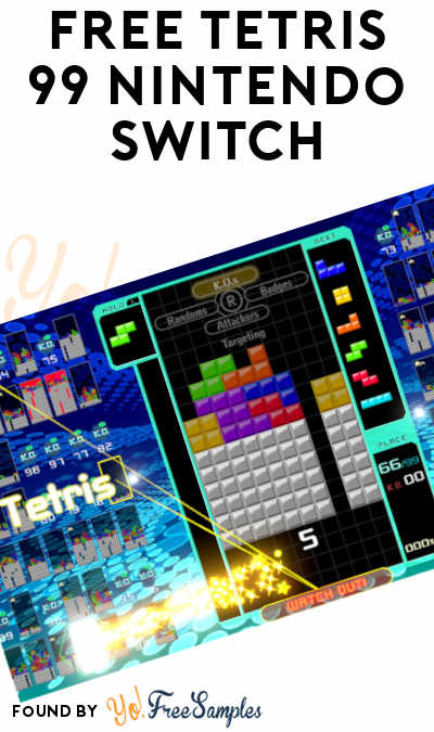 FREE Tetris 99 Nintendo Switch