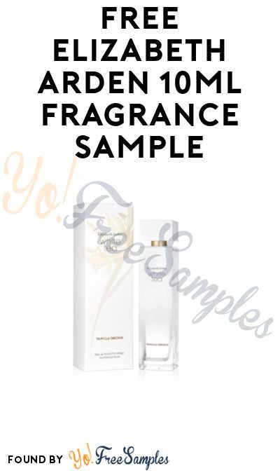 FREE Elizabeth Arden Fragrance Sample 10ml
