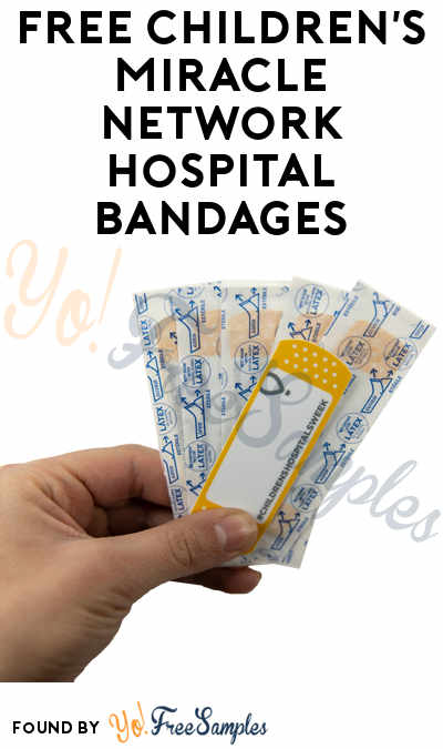 FREE Children's Miracle Network Hospital Bandages