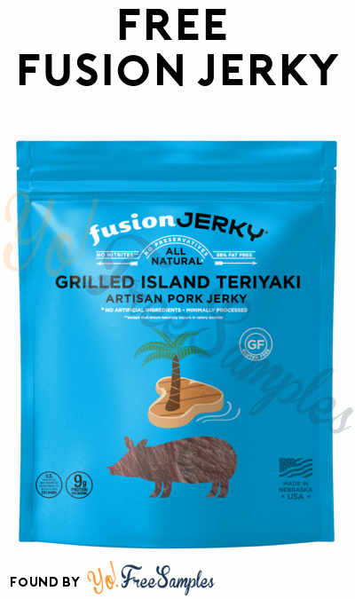 Possible FREE Fusion Jerky (Email Confirmation Required)