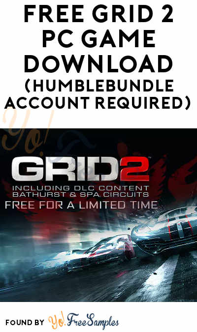 FREE Grid 2 PC Game Download (HumbleBundle Account Required)