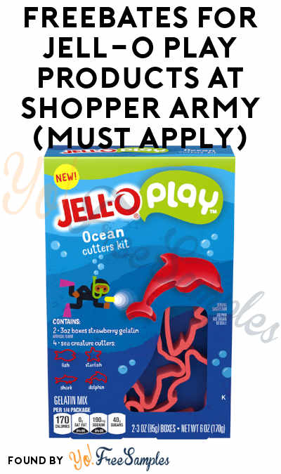 Back Again: FREEBATES For Baker's Ball Kits & Jell-O Play Products At Shopper Army (Must Apply)