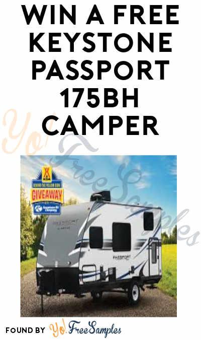 Enter Daily: Win a FREE Keystone Passport 175BH Camper in KOA Behind