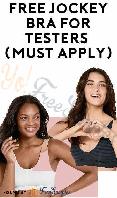 FREE Jockey Bra For Testers (Must Apply)
