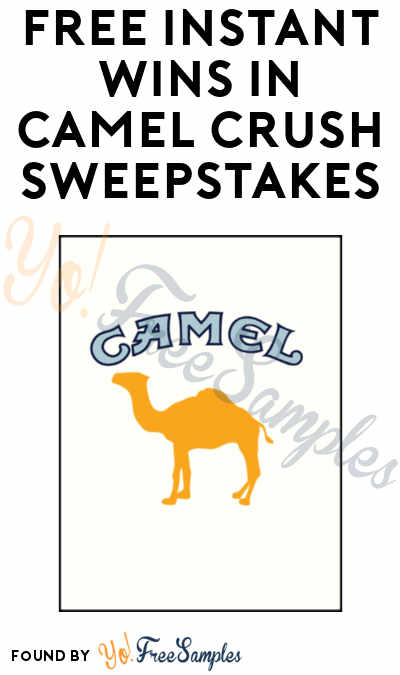 Enter Daily: Win FREE Gift Cards, Amazon Echo, Bluetooth Speakers & More From Camel Crush Now Sweepstakes (21+)