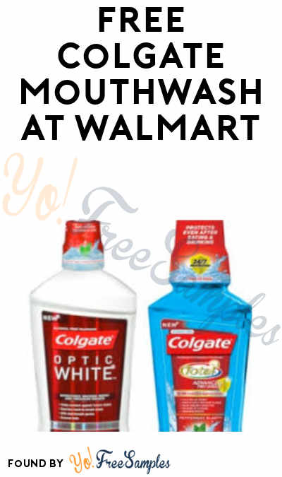 FREE Colgate Mouthwash + Profit at Walmart (Coupon and Ibotta Required)