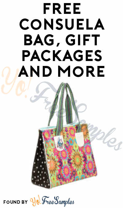 FREE Consuela Bag, Gift Packages and More in Consuela It's Not About the Bag Program