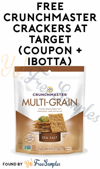 FREE Crunchmaster Crackers at Target (Coupon + Checkout51 + Ibotta Required) [Verified]