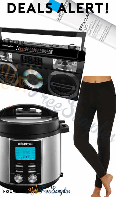 DEALS ALERT: La Roche-Posay, Fleece Warm Underwear Leggings, Pressure Cooker, Boombox & More