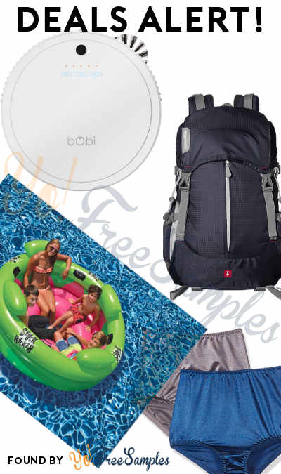 DEALS ALERT: Women's Undershapers, bObi Robot Vacuum, Hiker Backpack, Inflatable Swimming Pool & More