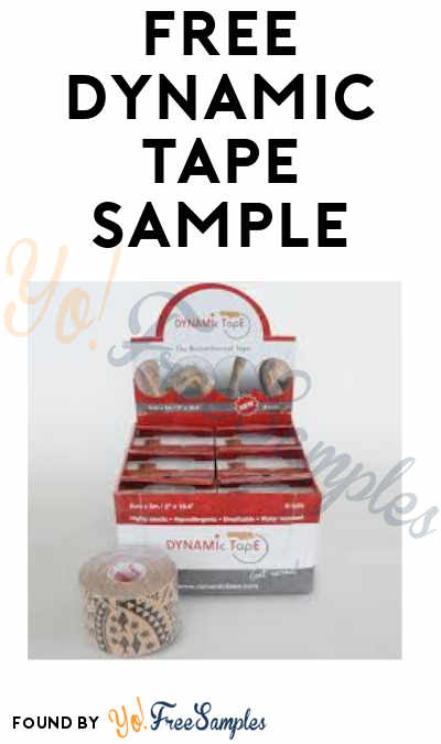 FREE Dynamic Tape Sample from North Coast Medical (Medical Professionals Only)