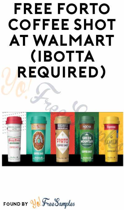 FREEBATE Forto Coffee Shots at Amazon & Walmart (Ibotta Required) [Verified]