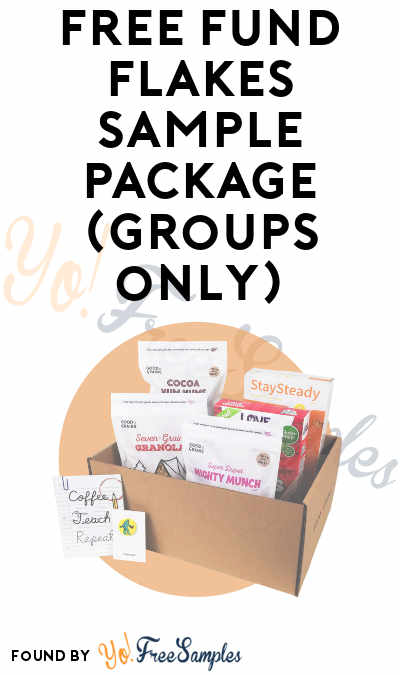 FREE Fund Flakes Sample Package (Groups Only)