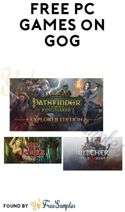 FREE Games For PC, Mac & More From GOG (GOG Account Required)
