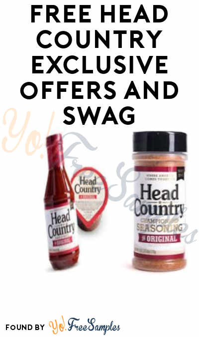 Possible FREE Head Country Swag + Exclusive Deals