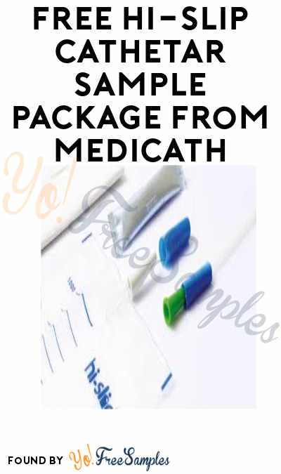 FREE Hi-Slip Cathetar Sample Package from Medicath (Patients Only)