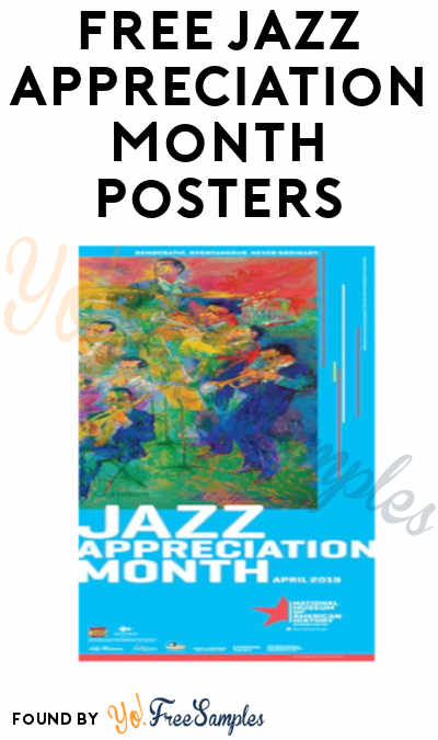 FREE Smithsonian Jazz Appreciation Month Posters (Survey Required)