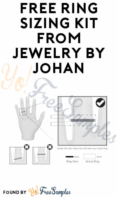 FREE Ring Sizing Kit from Jewelry By Johan
