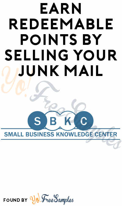 FREE Gift Cards For Your Junk Mail From Small Business Knowledge Centre