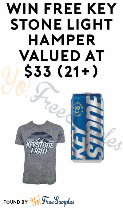Win FREE Hamper, Shirt, Light Cans & More in MillerCoors Key Stone Light Sweepstakes (21+)
