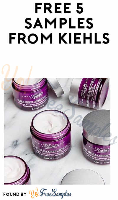 5 FREE Skincare Samples From Kiehl's (In-Store Only)
