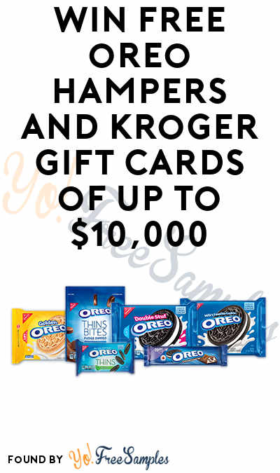 """Win FREE Oreos and Kroger Gift Cards of up to $10,000 with Kroger's """"Stuf Inside"""" Instant Wins"""
