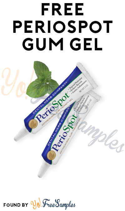 FREE PerioSpot Gum Gel from The Dental Herb Company (Dental Professionals Only)