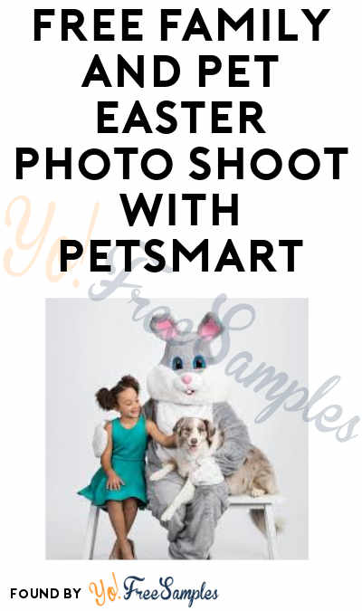 FREE Easter Bunny Family and Pets Photo Day at PetSmart
