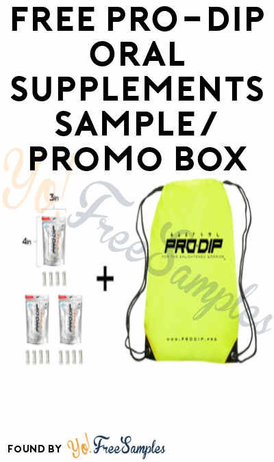 Answer Added: Possible FREE PRO-DIP Oral Supplements Sample + Promo Box (Instagram Required)