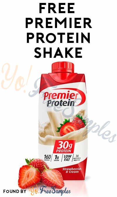 FREE Premier Protein Shake (Healthcare Professionals Only)