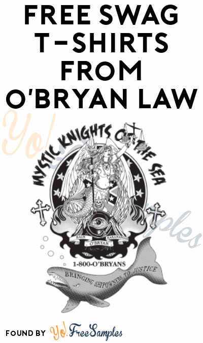 FREE T-Shirts From O'Bryan Law For Crews With 10+ Members