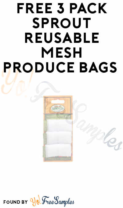 FREE 3 Pack Sprout Reusable Mesh Produce Bags (In-Store Only)