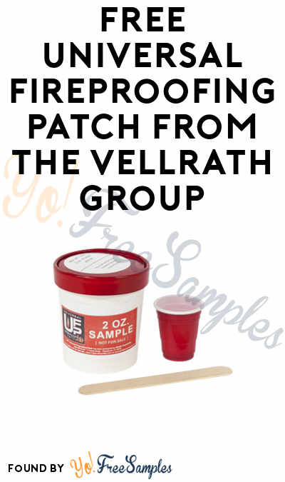 FREE Universal Fireproofing Patch from The Vellrath Group (Companies Only)