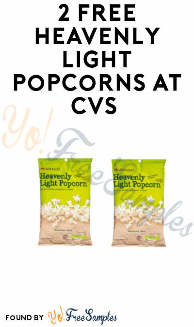2 FREE Heavenly Light Popcorns at CVS (Coupon Required)