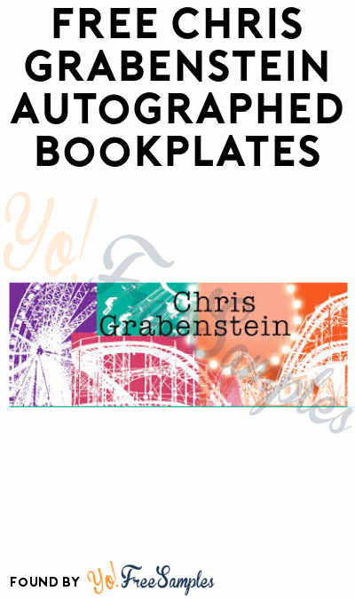 FREE Chris Grabenstein Autographed Bookplates (Email Required)
