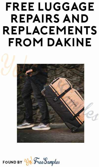 FREE Replacement Wheels, Straps, & Buckles from Dakine Luggage (Email Required)
