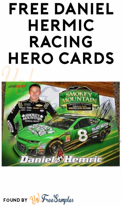 FREE Daniel Hermic Racing Hero Cards