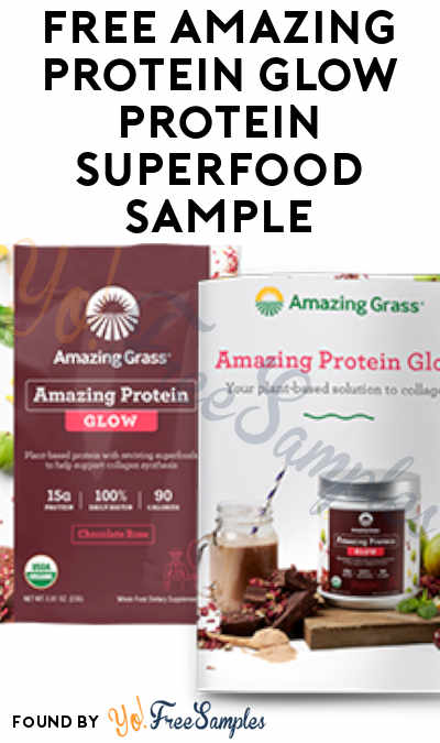 FREE Amazing Protein Glow Protein Superfood Sample