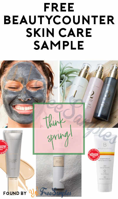 FREE Beautycounter Skincare Sample