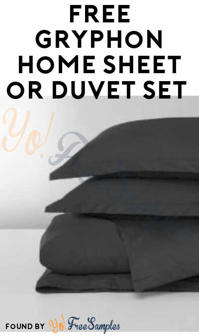 FREE Gryphon Home Sheet or Duvet Set From ViewPoints (Must Apply)