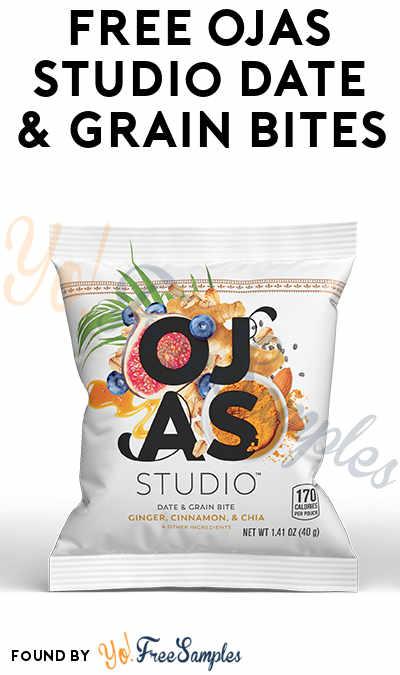 FREE Ojas Studio Date & Grain Bites From Sampler Media Network