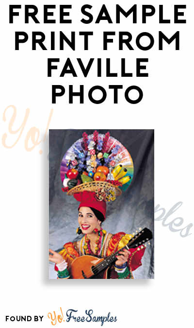 FREE Sample Print from Faville Photo